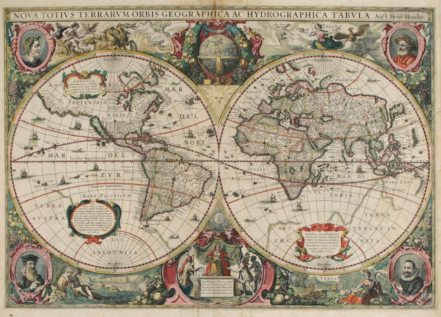 HONDIUS, HENRICUS. 1597-1651, [& JAN JANSSON].