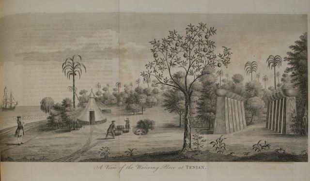 ANSON, GEORGE, BARON. 1697-1762.