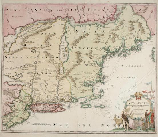 HOMANN, JOHANN BAPTIST. 1662-1724.