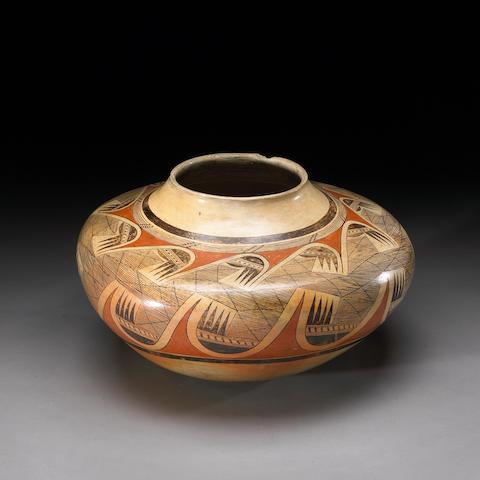 An important Hopi polychrome jar, Nampeyo