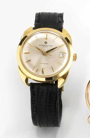 Vacheron & Constantin. A fine 18k gold self-winding wristwatch with oversize case lugsChronometre Royal automatic, Ref.6694, Case No.391011, Movement No.554284, circa 1964
