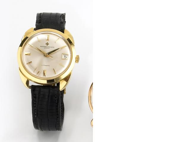 Vacheron & Constantin. A fine 18k gold self-winding wristwatch with oversize case lugs Chronometre Royal automatic, Ref.6694, Case No.391011, Movement No.554284, circa 1964