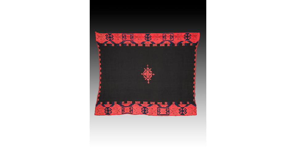 An Acoma embroidered manta
