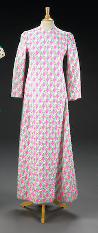 "A Carol Burnett robe worn backstage on ""The Carol Burnett Show"""
