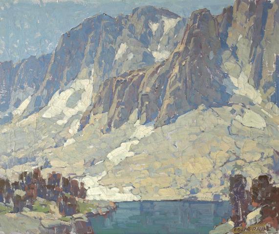 Edgar Payne (1883-1947) Sierra Slopes (Heart Lake) 25 1/4 x 30 1/4in