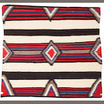 A Navajo chief's style weaving, 4ft 5in x 4ft 11in