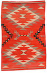 A Navajo transitional rug, 7ft x 4ft 8in