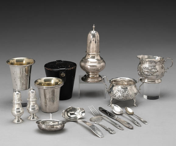 Group of Sterling Flatware and Hollowware