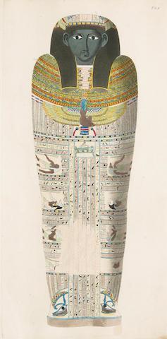 Segato, Girolamo.  Atlante monumentale del basso e della alto egitto.  Florence, 1839-40.  2 vols in