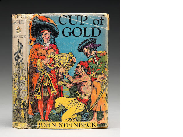 Steinbeck, John, 1902-68.  Cup of Gold:  A Life of Henry Morgan...NY, 1929.  Inscribed to Sister Bet