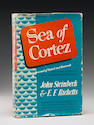 Sea of Cortez.  NY, 1941.  1st Ed.  d/j.  Inscribed to Carol.
