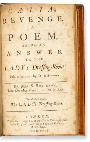 [SWIFT, JONATHAN. 1667-1745.]