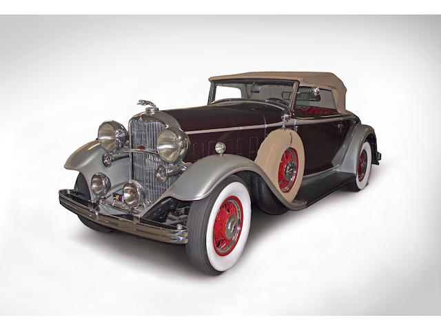 1932 Lincoln Model KA Convertible Roadster