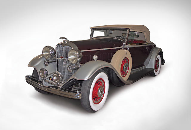 1932 Lincoln Model KA Convertible Roadster  Chassis no. 71191