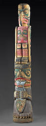 A Northwest Coast totem pole, John Livingston