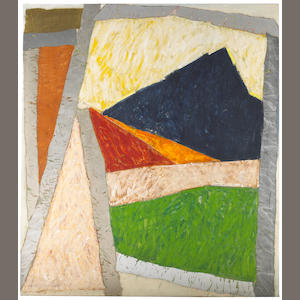 Michael Goldberg Codex Morales Le Grotte Vecchie XI 1981-82 oil on canvas