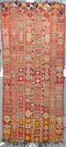 A Moroccan rug size approximately 5ft x 12ft 1in