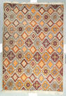 A Moroccan rug size approximately 6ft 8in x 9ft 6in