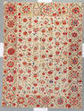 An Ouzbak Suzani textile Ouzbakistan size approximately 5ft 2in x 6ft 10in