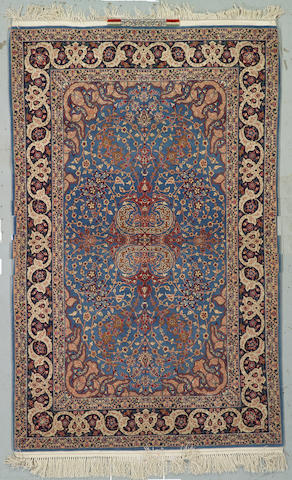 An Isphahan (Khordazad) rug South Central Persia size approximately 3ft 6in x 5ft 8in