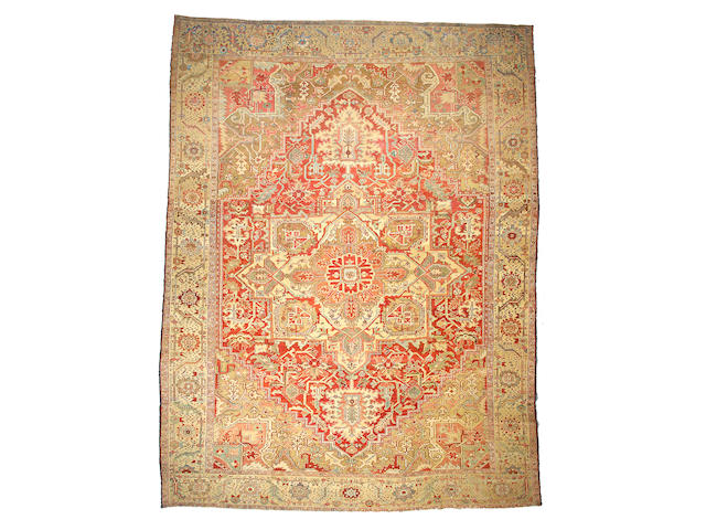 A Serapi carpet Northwest Persia size approximately 10ft 10in x 14ft 4in