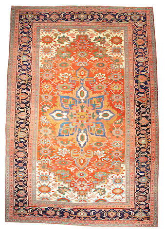 A Serapi carpet Northwest Persia size approximately 10ft 8in x 15ft 6in
