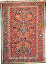 A Soumak carpet Caucasus size approximately 5ft 10in x 8ft 3in