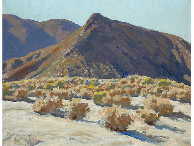 Maynard Dixon (1875-1946) Lone Pine, 1919 15 1/2 x 20in
