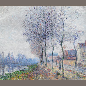 Gustave Loiseau L'Pise a Pontoise oil on canvas
