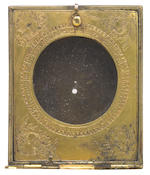 A rare gilt-brass astronomical compendium, French, dated 1608,
