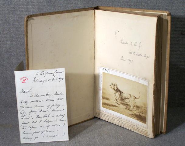 HUTCHINSON (WALTER) Hutchinson's Dog Encylopaedia, 3 vol.