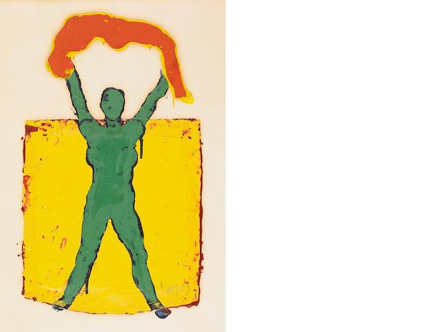 Manuel Neri (American, b.1930) Majic Act VIII, 1963 30 x 24 3/4in (76 x 63cm)