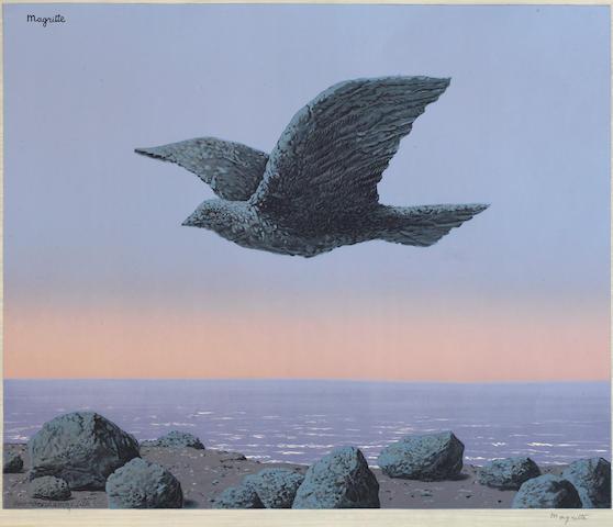 After René Magritte; L'Idole;