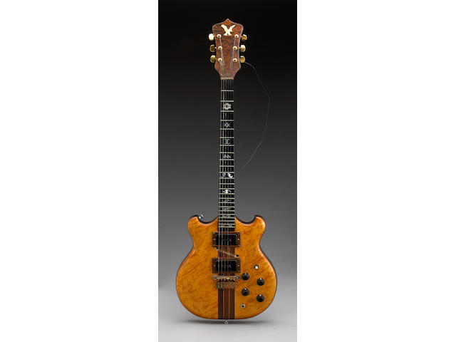 Doug Irwin guitar made for Jerry Garcia circa 1971 and case