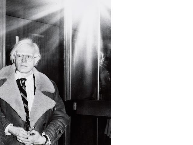 Edward Pfizenmaier (b.1926); Andy Warhol;