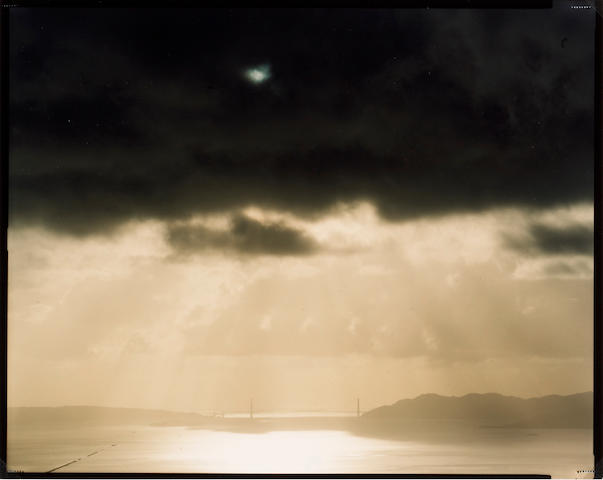 Richard Misrach (American, born 1949); Golden Gate Bridge, 2.16.98, 5:08 p.m.;