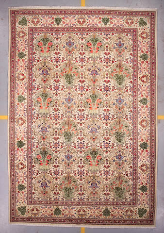 A Bakhtiari carpet size approximately 8ft 3in x 12ft 2in