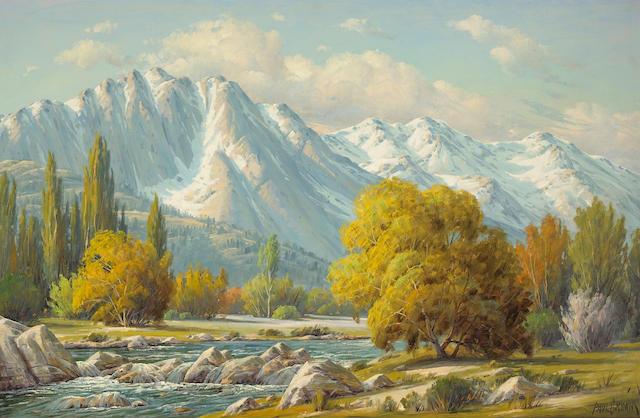 Paul Grimm (American, 1891-1974) Sierra's Magic Touch 26 x 40in