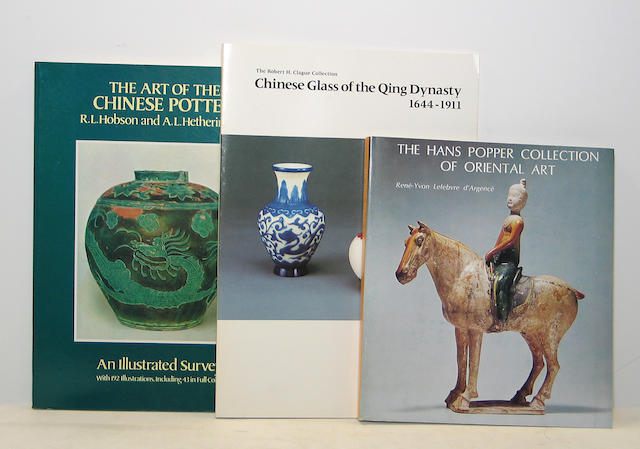 A collection of Asian art reference books