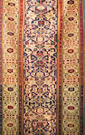 A Kuba runner caucasian size approximately 2ft 9in x 8ft 8in