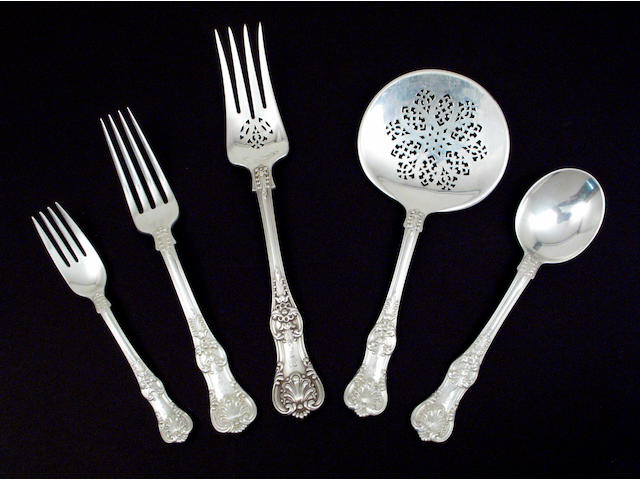 Sterling English King Flatware Set by Tiffany & Co.