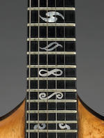 A Jerry Garcia electric guitar custom-made for him by Doug Irwin, 1971