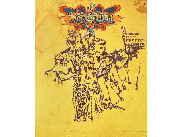 A Jerry Garcia never-before-seen original drawing, circa 1970s