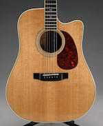 A Jerry Garcia acoustic guitar by Alvarez-Yairi and Modulus, 1991