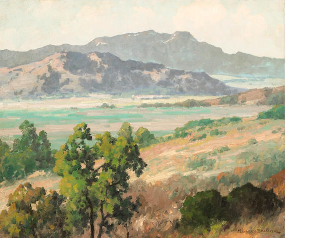 Maurice Braun (American, 1877-1941) Panoramic Vista 20 x 24in