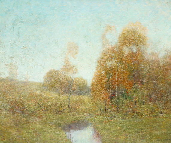 Ernest Albert (American, 1857-1946) Connecticut Landscape 20 x 24in