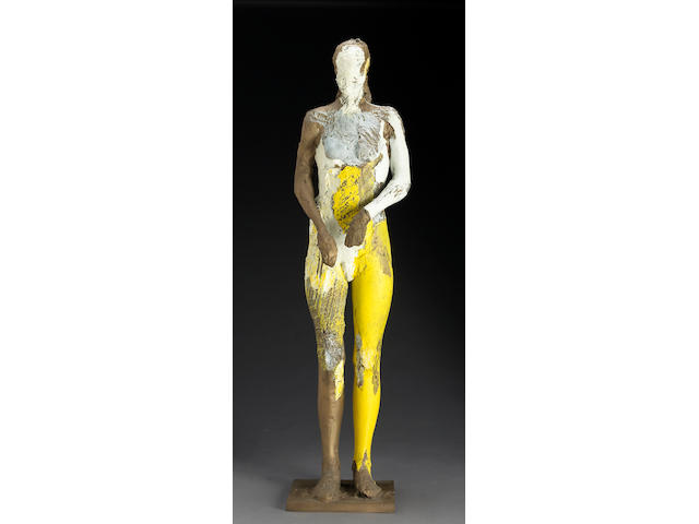 Manuel Neri (American, b.1930) Figure from Prieta Series height with base 68in (72.8cm)