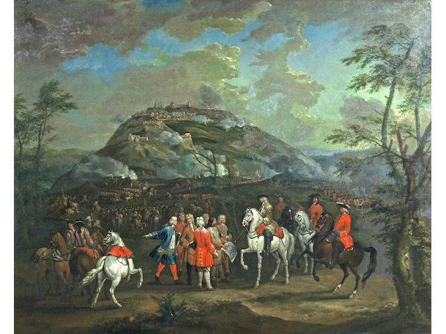 Jan Peeter Verdussen (Flemish, born circa 1700-1763)