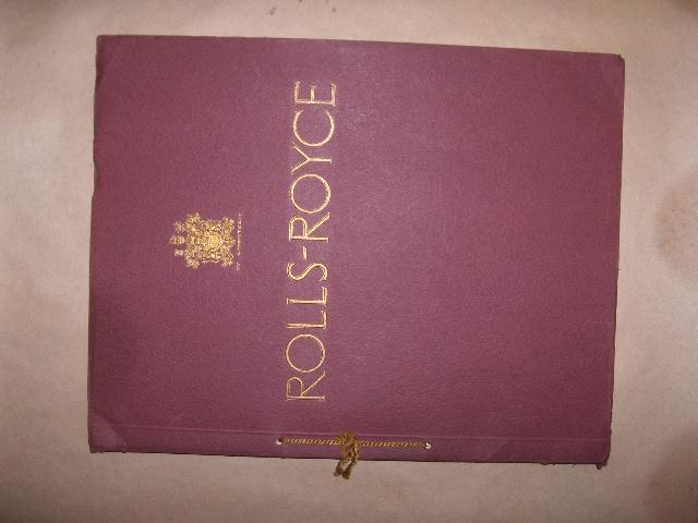A fine Rolls-Royce Phantom II sales catalogue, 1930s,