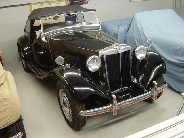 1952 MG TD  Chassis no. TD17424